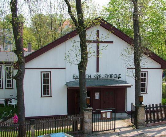 Kreuzkirche Gotha von außen
