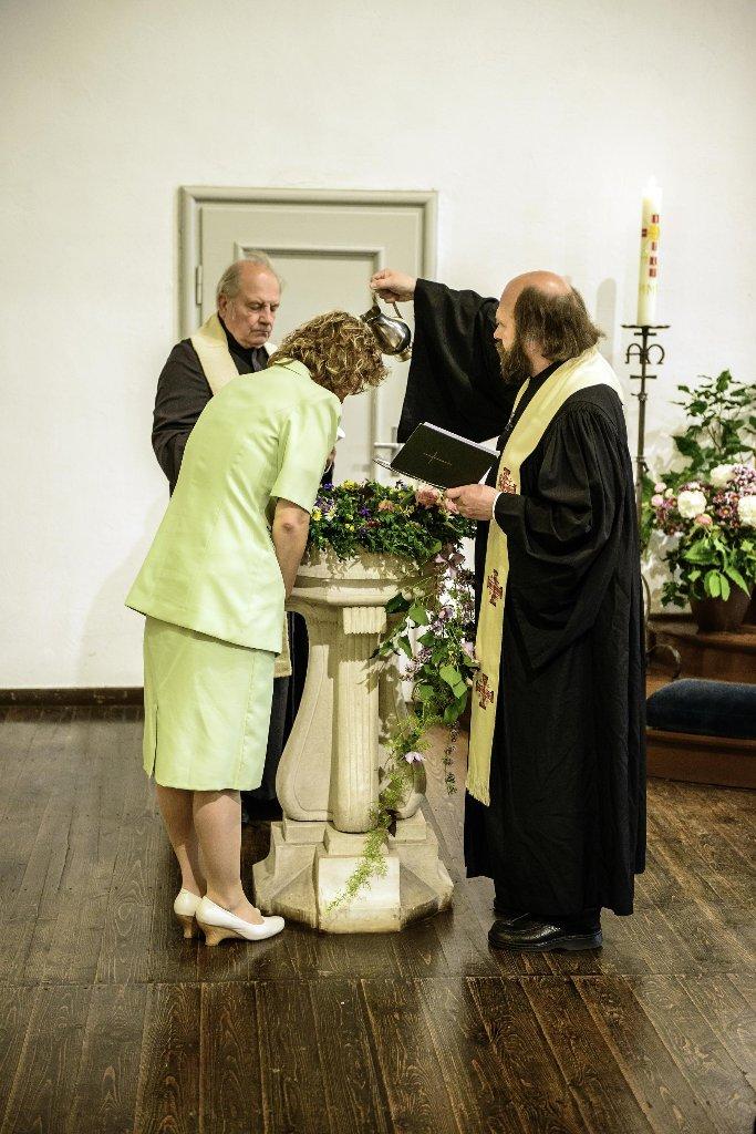 Taufe in der Kreuzkirche am Johannistag
