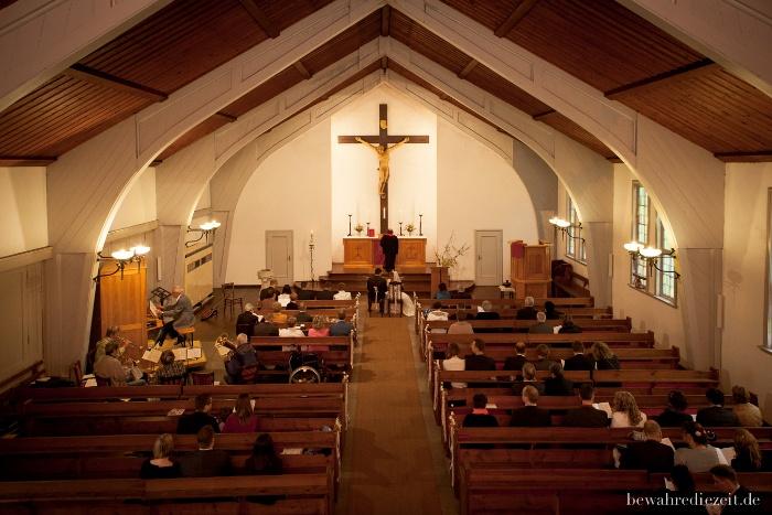 Trauung in der Kreuzkirche